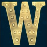 """Vintage Marquee Lights 24"""" W Vintage Marquee Letter Lights come in any number letter or symbol and in a variety of colours They look great in childrens bedrooms or as an art piece for your home Gl. Please Click the image for more information."""