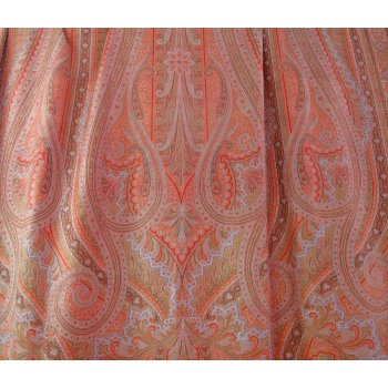 C1850 Antique Kashmir Paisley Shawl Large 19th Century Kashmir shawl  Very fine weaving  Paisley designs with twining sprays of plants  . Please Click the image for more information.
