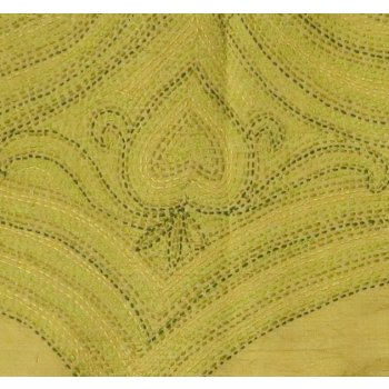 Lime silk embroidered scarf This lustrous silk shawl has been hand embroidered in shades of green in a richly stitched design Light weight silkH. Please Click the image for more information.