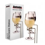 Bartender - Stemware Stakes (set of 2 wine glass holder stakes) These sturdy wine glass holder stakes are  a great gift for someone who loves picnics garden parties and outdoor events . Please Click the image for more information.