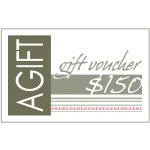 $150 Gift Certificate Now they can have their gift and choose it tooWith a lovely range of gifts to choose from  at AGIFT let them enjoy selecting their favourite  Spoil. Please Click the image for more information.
