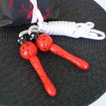 Lady Bug Skipping Rope Keep your children entertained and make excercise fun with this cute Lady Bug skipping rope with bright painted wooden handles. Please Click the image for more information.