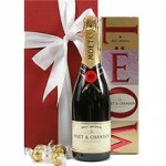 Champagne & Chocolate Gift You simply cant go wrong with Moet and chocolates to celebrate a special ocassion or to express your appreciation of a special personEle. Please Click the image for more information.