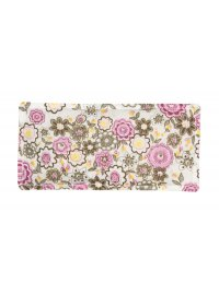 Pink Floral Eye Pouch  Please Click the image for more information.