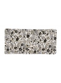 Black and Grey Floral Eye Pouch  Please Click the image for more information.