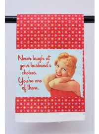 NEVER LAUGH AT YOUR HUSBANDS CHOICES  Please Click the image for more information.