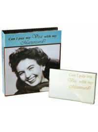 FASHION QUEEN CARD HOLDER VISA SECRETS OF A FASHION QUEEN BUSINESS CARD HOLDERCAN IPAY MY VISA WITH MY MASTERCARDIN BLUE RETRO BOX Please Click the image for more information.