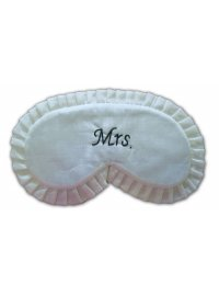 MRS EYEMASK SILK CREAM AND BLACK MRS  EYEMASK Please Click the image for more information.
