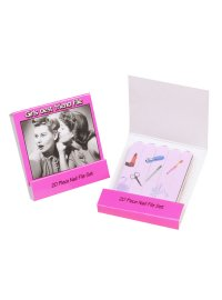 GIRLS BEST FRIEND FILES GIRLS BEST FREIND FILES SET OF 20 NAIL FILES EACH FILE HAS BEAUTY PRODUCTS PRINTED ON THEMSOLD TO YOU IN A DISPLAY BOX OF 16 SETS. Please Click the image for more information.