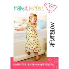 Make It Perfect Afterglow Afterglow is a super sweet nightdress designed for sleeping beauties you know the little girls that just have to wear a dress everywhere This simple design featuring pleated front detail and dainty puffy sleeves is comfortable and easytowear for a good nights rest Due to its cla. Please Click the image for more information.