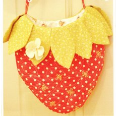 Fig Tree Berry Sweet Bag  a sweet little strawberry purse for anyone young at heatThis whimsical little bag can easily be made either quilted or merely sewn whichev. Please Click the image for more information.