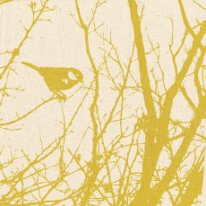 Kristen Doran Winter Nest Mustard on Cream Panel Inspired by a birds nest in a neighbourhood tree Kristen Doran designed this exquisite Winter Nest L. Please Click the image for more information.