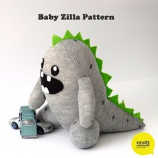 Craft Schmaft Zilla Pattern Create your very own Baby Zilla with this beautifully presented  designed pattern Just one sock some stuffing and felt and hes ready to demolish everything in sightThe pattern includes complete instructions diagrams and material list This proj. Please Click the image for more information.