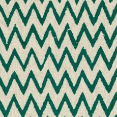 Hokkoh Chevron Emerald Green on Natural Linen Blend Home decorating weight chevron stripe printed on a cottonlinen blend Suitable for lampshades cushions bags midweight skirts and many other craft and sewing projects. Please Click the image for more information.