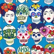 Alexander Henry Gotas De Amor  Alexander Henry Gotas De Amor is a funky skull fabric design for the young at heart Please Click the image for more information.