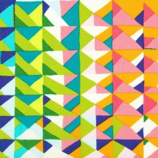 Alexander Henry Casa Azul Alexander Henry Casa Azul is a fabulous geometric in a fun colour palette of pink orange green blue and lemon. Please Click the image for more information.