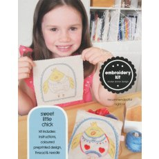 Kristen Doran Sweet Little Chick Embroidery Kit Is your little one ready to start sewing This Sweet Little Chick embroidery kit is the perfect introduction to hand stitchingThe kit includesDesign printed in full colour on ethically sourced cottonhemp A handy pos. Please Click the image for more information.