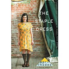 April Rhodes The Staple Dress The Staple Dress is designed to be simple yet flattering This dress has a lot of ease through the bust and hip with elastic shirring at the waist to cinch it in T. Please Click the image for more information.