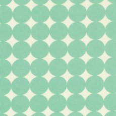 True Colours Mod Dot Aqua Remnant Mod Dot is designed by Heather Bailey for the True Colours designer fabric collection Please Click the image for more information.