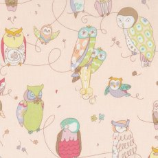 Alexander Henry Spotted Owl Pale Pink  Please Click the image for more information.