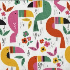 Alexander Henry Toucan Zoo Pink Turn this adorable Alexander Henry toucan fabric into wall art cushions quilts applique or clothing for your little ones. Please Click the image for more information.