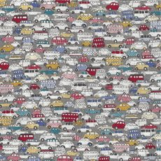 Traffic Grey Double Gauze  A fun boys fabric featuring small scale cars  double deck buses This incredibly soft double gauze would be perfect for nursery cot linen cushions and quilts as well as baby wraps and apparel. Please Click the image for more information.