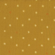 Cotton + Steel Bespoke Spark Mustard Double Gauze Spark forms part of the Bespoke collection by Cotton  Steel and is printed on double gauze Double gauze is simply two layers of gauze joined together with invisible stitches making the fabric not too sheer and lovely and soft Dou. Please Click the image for more information.