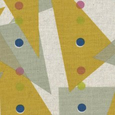 Jubilee Triangles Mustard Jubilee is a lovely contemporary Japanese design printed on medium home decorating weight cottonlinen blend . Please Click the image for more information.