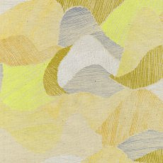 Nani Iro 2015 Mountain Views Yellow Linen Blend Nani Iro Mountain Views is a striking contemporary abstract design with paint like characteristics forming part of the exquisite Japanese Nani Iro Spring 2015 Collection by Naomi ItoMo. Please Click the image for more information.