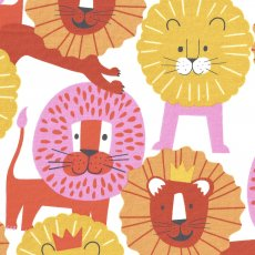 Alexander Henry Little Lion Pink Orange Turn this adorable Alexander Henry Little Lion fabric into wall art cushions quilts applique or clothing for your little ones. Please Click the image for more information.