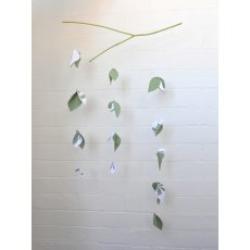 Dandi Leaf Mobile Pattern Gorgeous leaf mobile by DandiIncludes detailed  full colour  instructions and  cutting  templates on how to create your own leaf mobile. Please Click the image for more information.