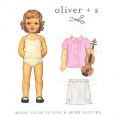 oliver + s Music Class Blouse & Skirt 6 months - 4 yrs Ready for your lesson This blouse and skirt pattern features pintucks on the blouses front and back yoke and a button or snapclosure front placket The . Please Click the image for more information.