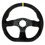 RPM SL S/W Runner 330mm suede black Excellent 330mm flat bottom steering wheel  Please Click the image for more information.
