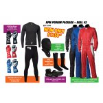 RPM PODIUM SUIT PACKAGE Package Includes RPM Podium Suit RPM Club Gloves RPM Indy 3 Boots Nomex Underwear set Nomex socks Nomex balaclava Please Click the image for more information.