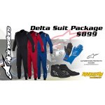 ALPINESTARS DELTA SUIT PACKAGE Package Includes ALPINESTARS DELTA SUIT ALPINESTARS TECH 1 START GLOVES ALPINESTARS SP SHOES Boots BLACK ONLY Please Click the image for more information.