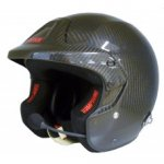 SIMPSON RALLY CARBON PLUS Simpson Rally Carbon is the latest in open face Carbon helmet design The adjustable earmuffs deliver a soundproof environment for ultimate communication . Please Click the image for more information.