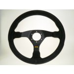 SL S/W Comfort 350mm Suede Black 3 spoke This wheel is a fantastic addition to your race car It features a classic style and smooth  simple design with a suede finish. Please Click the image for more information.