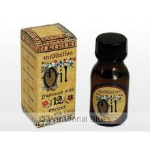 Meditation Fragrant Oil 15ml An oil specially formulated for oil burners  light bulb rings fragranced with  our famous Meditation fragrance a blend of 12 Ancient Oils with unique and lasting properties. Please Click the image for more information.