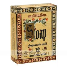 Meditation Soap Boxed Meditation Soap Boxed fragranced with  our famous Meditation fragrance a blend of 12 Ancient Oils with unique and lasting properties. Please Click the image for more information.