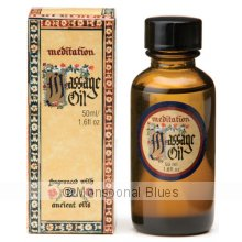 Meditation Massage Oil 50ml Meditation Massage Oil 50ml fragranced with  our famous Meditation fragrance a blend of 12 Ancient Oils with unique and lasting properties. Please Click the image for more information.