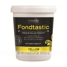 Mondo Fondtastic Premium Rolled Fondant - Yellow The Fondtastic Premium Rolled Fondant by Mondo is a quality non stick pliable fondant icing that produces a smooth elegant finish I. Please Click the image for more information.