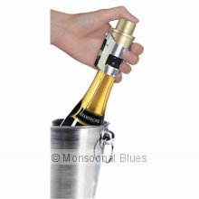 Pump It Up Champagne Stopper Pump It Up Champagne StopperChampagne looses effervescence once the pressure cork is released Use this fantastic patented Champagne Stopper to pump air back into an opened bottle so you can store it in the fridge and keep it bubbly It even has a dial to show the date you stored it stopp. Please Click the image for more information.