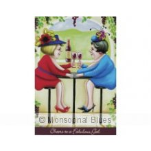 Sue J Card Winery Gals Sue began illustrating cards in 2000 and her card range has expanded gradually since then  Sue only releases a couple of new designs each year and her cult followers now have many to choose from . Please Click the image for more information.
