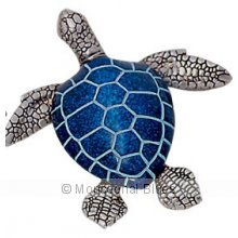 Turtle Blue Medium Size 12.5cm  This Turtle makes a great gift for anyone and for any time of the year Please Click the image for more information.