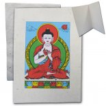 Buddha Vairochana Card Hand made paper with envelope blank inside Vairochana BuddhaComes with 4 in one pack Made in Nepal Please Click the image for more information.