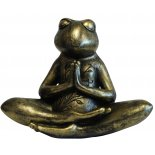 Meditating Frog Statue Peaceful and adorable Meditating Frog Statue in antique bronze finish Please Click the image for more information.