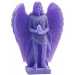 Archangel Uriel Statue, Frosted Purple, 138mm Archangel Uriel Statue Frosted Purple 138mmArchangel Uriel Salvation and Pure LoveUriels name means God is my light or Fire of God He is widely. Please Click the image for more information.
