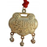 Longevity Lock, Gold on Red Cord Longevity Lock Gold on Red CordIts origins date back to the Han Dynasty 206BC220AD to ward off bad luck during the Dragon Boat Festival  It began. Please Click the image for more information.