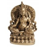 Wealth God, Dzambhala Statue, Antique Gold  Wealth God Dzambhala Statue Guardian  Protector of Wealth  Lord of WaterAntique Gold H  120 x W 75 x D 65mm Please Click the image for more information.