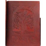 Leather bound, hand made paper journal, embossed various designs, A4 size  Leather bound hand made paper journal embossed various designs A4 size  H  255mm x W  175mm Available in  Tree of Life BK076F Please Click the image for more information.